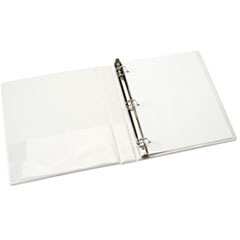 NSN3848786 - AbilityOne™ D-Ring View Binder - Clear Overlay