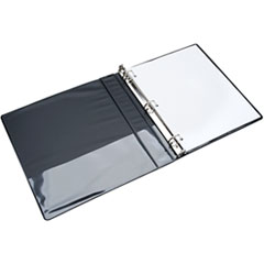 NSN4208078 - AbilityOne™ D-Ring View Binder - Clear Overlay