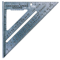 ORS698-S0101 - Swanson ToolsDie Cast Aluminum Speed Square