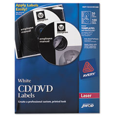 NSN5549538 - AbilityOne™ Avery® CD/DVD Label Kit Refill