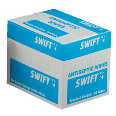 SFA714-150910 - Swift First AidAntiseptic Wipes