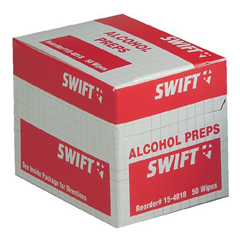 ORS714-154818 - Swift First AidAlcohol Wipes 50/bx