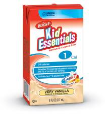 MON33502601 - Nestle Healthcare NutritionPediatric Oral Supplement / Tube Feeding Formula BOOST® Kid Essentials 1.0 240 Calories Very Vanilla 8 oz.