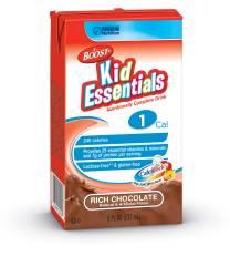 MON33252601 - Nestle Healthcare NutritionPediatric Oral Supplement / Tube Feeding Formula BOOST® Kid Essentials 240 Calories Rich Chocolate 8 oz.