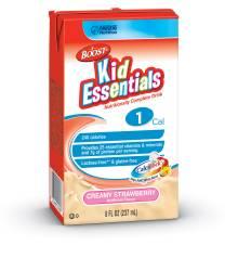 MON33532601 - Nestle Healthcare NutritionPediatric Oral Supplement / Tube Feeding Formula BOOST® Kid Essentials 240 Calories Creamy Strawberry 8 oz.