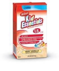 MON33542601 - Nestle Healthcare NutritionPediatric Oral Supplement / Tube Feeding Formula BOOST® Kid Essentials 1.5 360 Calories Very Vanilla 8 oz.