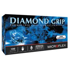 ANS748-MF-300-L - AnsellDiamond Grip Examination Gloves, Large, Natural