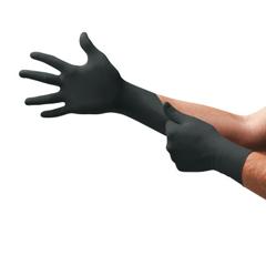 ANS748-N644 - AnsellOnyx Disposable Gloves, Nitrile, Finger - 13 mm; Palm - 9 mm, X-Large, Black
