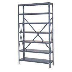 QNT75-1236-8 - Quantum Storage Systems - 22-Gauge Steel Shelving