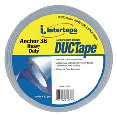 IPG761-4137 - Intertape Polymer GroupAnchor® 36 Heavy-Duty Contractor Grade Duct Tapes