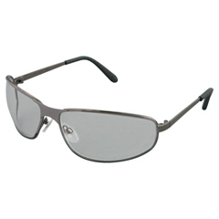 FND763-S2450 - Honeywell - Uvex™ Tomcat Eyewear, Polycarb Anti-Scratch Hard Coat Lenses, Gunmetal Metal Frame