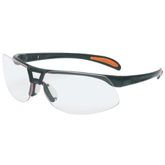 FND763-S4200HS - HoneywellUvex™ Protege Eyewear, Clear Polycarbonate Anti-Fog Lenses, Black Nylon Frame