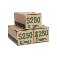 PMC61010 - PM Company® Corrugated Coin Storage and Shipping Boxes