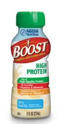 MON94132600 - Nestle Healthcare NutritionOral Supplement BOOST® High Protein Vanilla 8 oz.