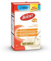 MON38312601 - Nestle Healthcare NutritionOral Supplement BOOST PLUS® Very Vanilla 8 oz.