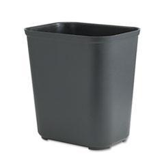 RCP254300BK - Rubbermaid® Commercial Fiberglass Wastebasket