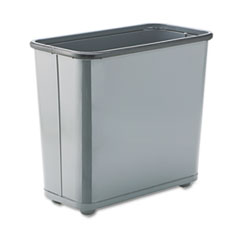 RCPWB30RGY - Rubbermaid® Commercial Fire-Safe Steel Rectangular Wastebaskets