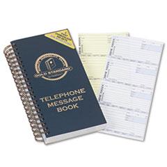 RED50079 - Rediform® Gold Standard Line™ Wirebound Message Book