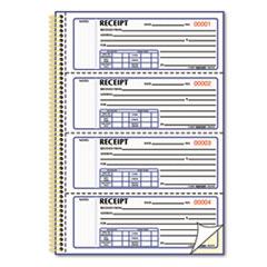 RED8L810 - Rediform® Gold Standard™ Money Receipt Book