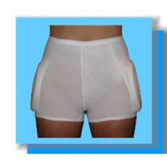 MON34323001 - Worldwide OrthoComfiHips® Male Hip Protector, Medium