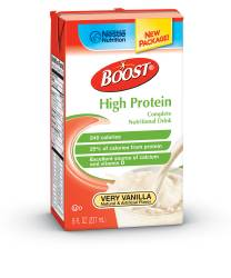 MON41392601 - Nestle Healthcare NutritionOral Supplement BOOST® High Protein Very Vanilla 8 oz.