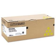 RIC406347 - Ricoh 406347 Toner, 2500 Page-Yield, Yellow