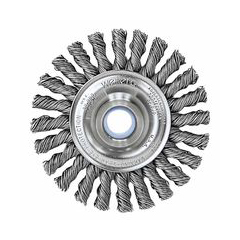 WEI804-08534 - WeilerDualife® Cable Twist Knot Wire Wheels