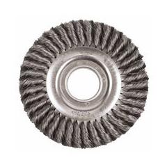 WEI804-09430 - WeilerDualife® Wide-Face Standard Twist Knot Wire Wheels