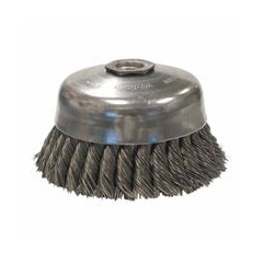 WEI804-12256 - WeilerGeneral-Duty Knot Wire Cup Brushes