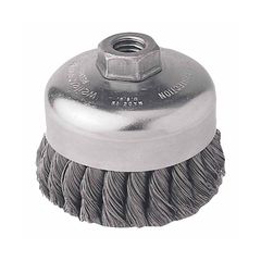WEI804-12306 - WeilerGeneral-Duty Knot Wire Cup Brushes