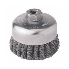 WEI804-12406 - WeilerGeneral-Duty Knot Wire Cup Brushes