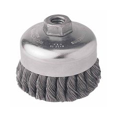WEI804-12416 - WeilerGeneral-Duty Knot Wire Cup Brushes