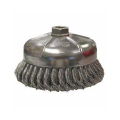 WEI804-12456 - WeilerGeneral-Duty Knot Wire Cup Brushes