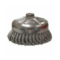 WEI804-12476 - WeilerGeneral-Duty Knot Wire Cup Brushes