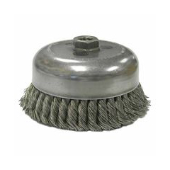 WEI804-13257 - WeilerGeneral-Duty Knot Wire Cup Brushes