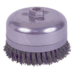 WEI804-12686 - WeilerExtra Heavy-Duty Knot Wire Cup Brushes