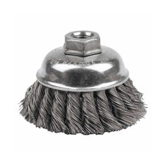 WEI804-12746 - WeilerGeneral-Duty Knot Wire Cup Brushes