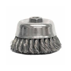 WEI804-12756 - WeilerHeavy-Duty Knot Wire Cup Brushes