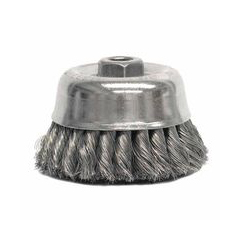 WEI804-12766 - WeilerHeavy-Duty Knot Wire Cup Brushes