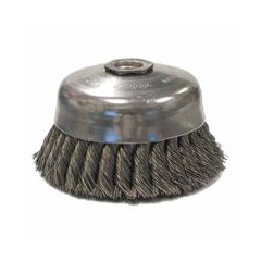 WEI804-12816 - WeilerGeneral-Duty Knot Wire Cup Brushes