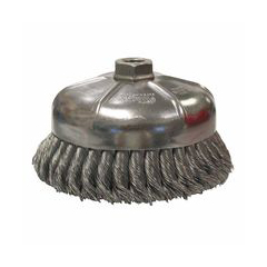 WEI804-12866 - WeilerGeneral-Duty Knot Wire Cup Brushes