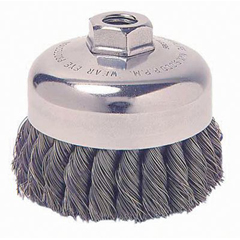 WEI804-12886 - WeilerGeneral-Duty Knot Wire Cup Brushes