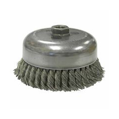 WEI804-12916 - WeilerHeavy-Duty Knot Wire Cup Brushes
