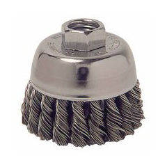 WEI804-13015 - WeilerGeneral-Duty Knot Wire Cup Brushes