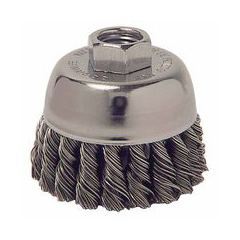 WEI804-13021 - WeilerGeneral-Duty Knot Wire Cup Brushes