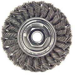 WEI804-13106 - Weiler - Dualife® Standard Twist Knot Wire Wheels