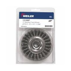 WEI804-13106P - Weiler - Dualife® Standard Twist Knot Wire Wheels