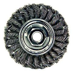 WEI804-13120 - Weiler - Dualife® Standard Twist Knot Wire Wheels