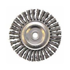 WEI804-13124 - Weiler - Dualife® Stringer Bead Twist Knot Wire Wheels