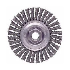 WEI804-13128 - Weiler - Dualife® Stringer Bead Twist Knot Wire Wheels